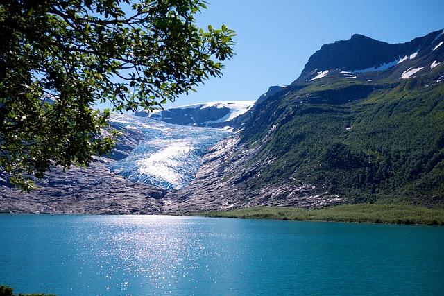 symbole, symbolika, przyroda norwegii, jezioro, gory