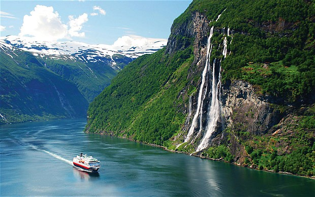 Geirangerfjord, fiordy w norwegii