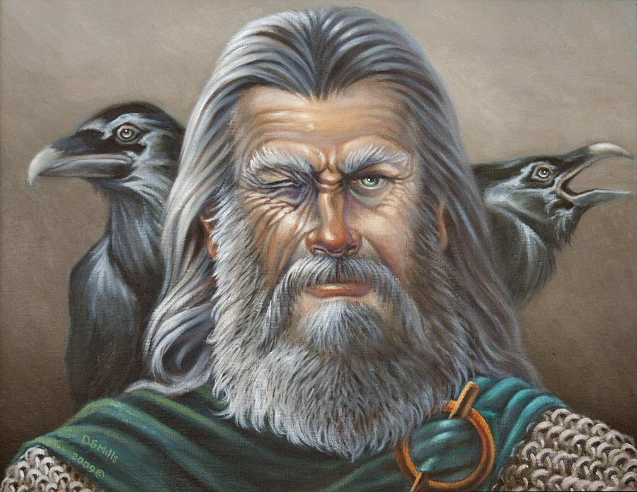 nazwy dni tygodnia, odyn, mitologia skandynawska