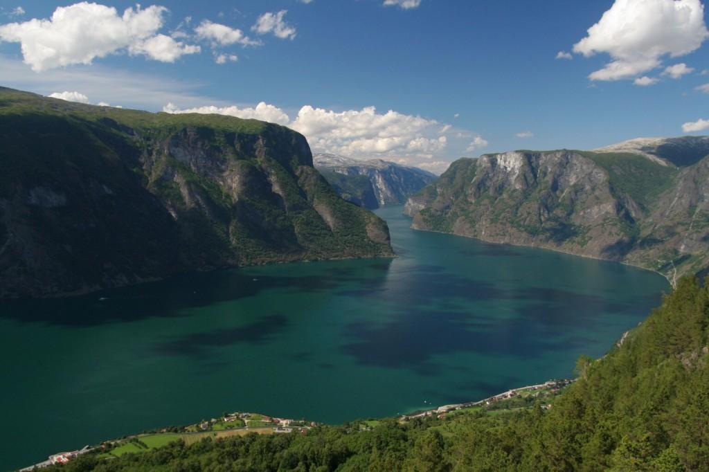 Sognefjorden, fiordy w norwegii, przyroda norwegii