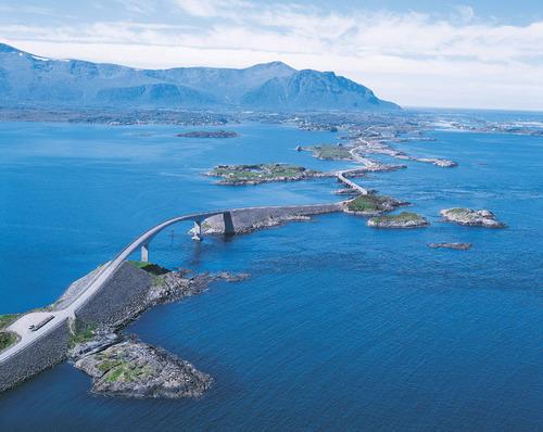Droga Atlantycka, Malownicze szlaki Norwegii, Podroze po Norwegii