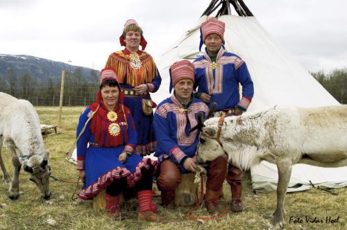 Laponczycy, saamowie