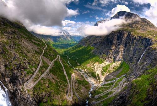 Trollstigen, droga Trolli w Norwegii