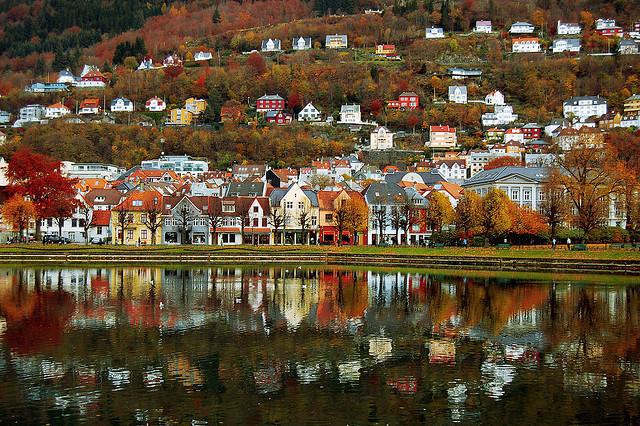 bergen, miasta Norwegii