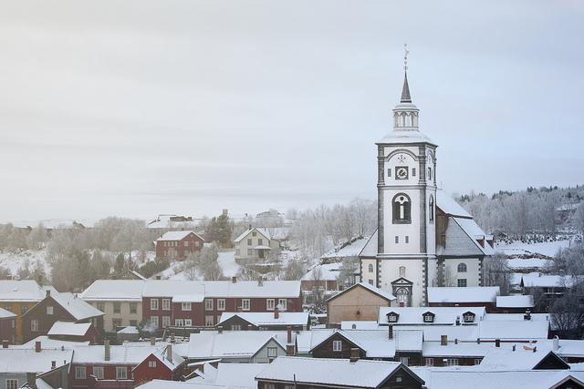 Røros,  miasta norwegii