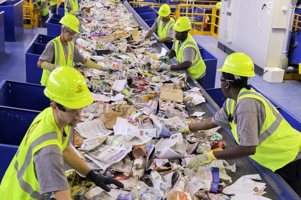 sortowanie śmieci w Norwegii